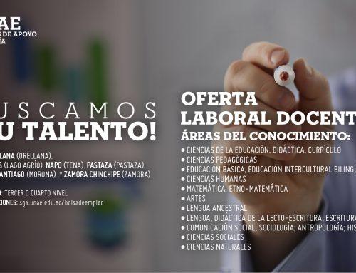 Oferta Laboral para Docentes (Amazonía)