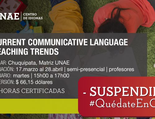 Curso de Current Communicative Language Teaching Trends