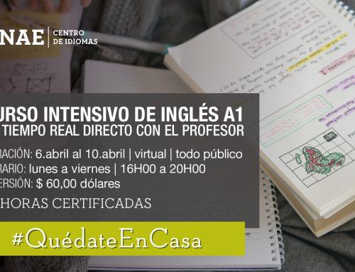 Curso intensivo de Inglés A1