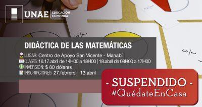 Curso Semipresencial Didáctica de las Matemáticas