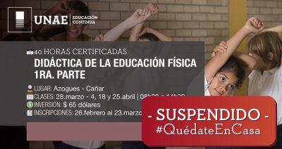 Curso Semipresencial Didáctica de la Educación Física 1era parte