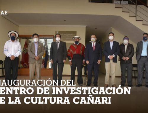 Inauguración del Centro de Investigación de la Cultura Cañari