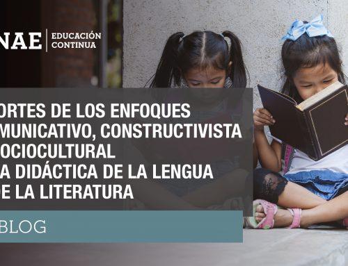 Aportes de los enfoques comunicativo, constructivista y sociocultural a la didáctica de la lengua y de la literatura