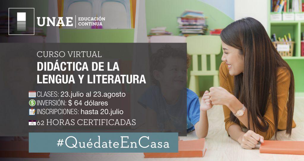 Curso virtual: Didáctica de la Lengua y Literatura