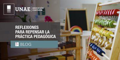 Blog: Reflexiones para repensar la práctica pedagógica
