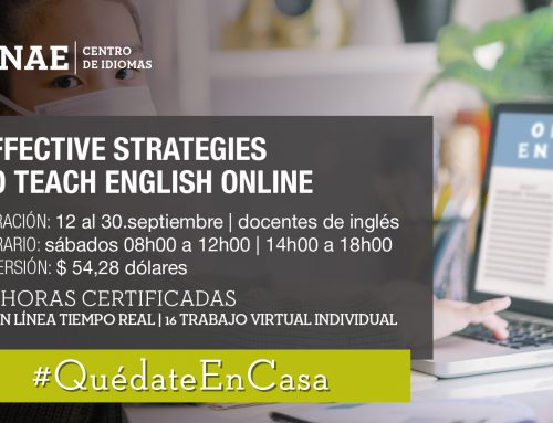 EFFECTIVE STRATEGIES TO TEACH ENGLISH ONLINE