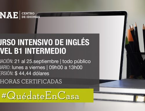 CURSO INTENSIVO DE INGLÉS NIVEL B1 INTERMEDIO