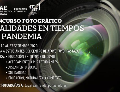 Concurso de Fotografía: Realidades amazónicas en tiempos de pandemia
