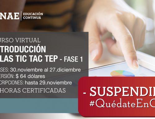 TIC TAC TEP Fase 1 Cohorte III