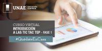 Curso virtual: TIC TAC TEP Fase 1