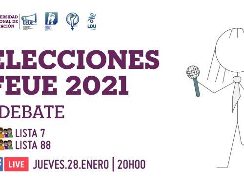 Elecciones FEUE 2021
