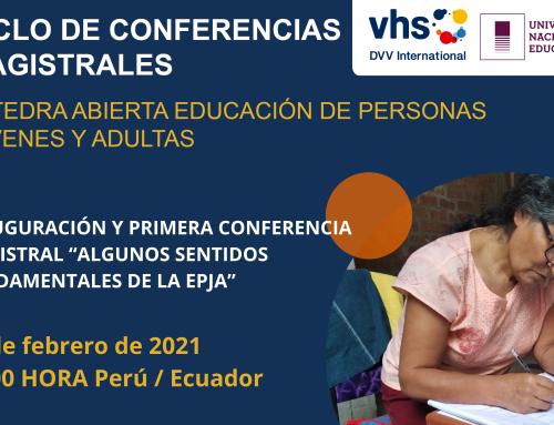 Cátedra Abierta Educación de Personas Jóvenes y Adultas