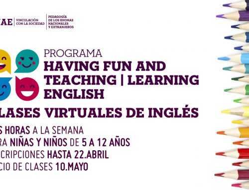 Clases virtuales de inglés: Having fun and teaching/learning English