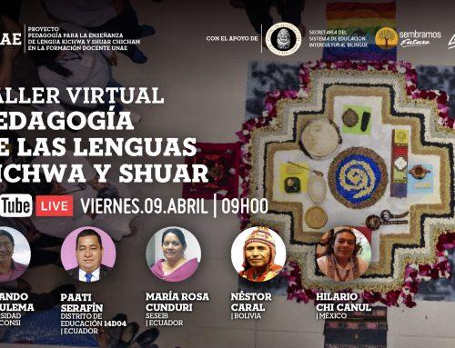 Taller virtual: Pedagogía de las lenguas Kichwa y Shuar