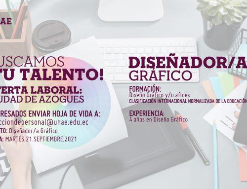 Oferta Laboral, DISEÑADOR/A  GRÁFICO