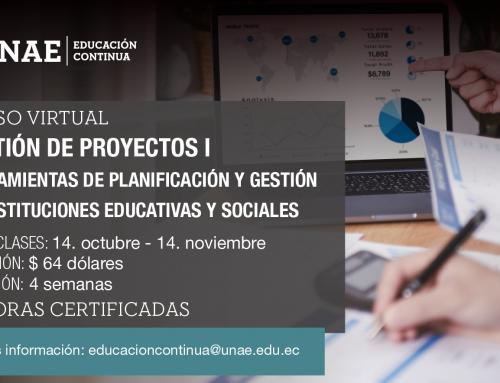 GESTIÓN DE PROYECTOS I: HERRAMIENTAS DE PLANIFICACIÓN Y GESTIÓN DE INSTITUCIONES  EDUCATIVAS Y SOCIALES